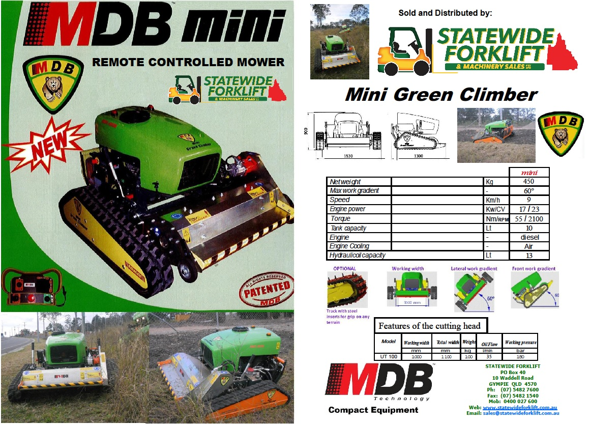 Mini Green Climber Brochure