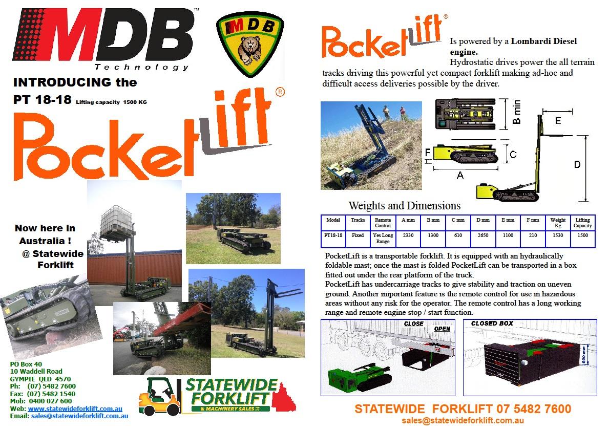 MDB PocketLift Brochure