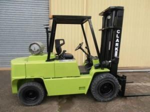 Clark Used Forklift Sales LPG
