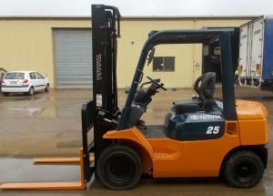 Toyota Forklift 2.5ton 7 Series