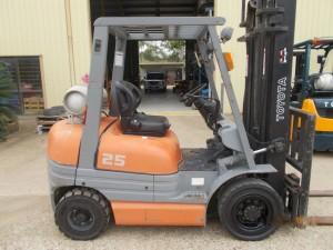 Toyota Forklift 6 Series LPG Used Sales