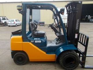 Toyota Forklift Used Sales