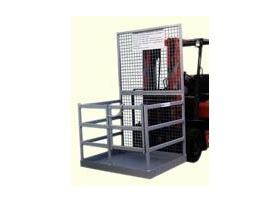 Forklift Attachment Work Platform