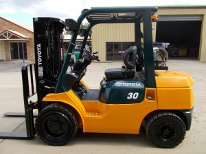 Hire Toyota Forklift 131